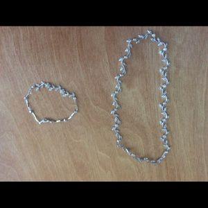 Jewelry - NEW Pavê Vine Necklace/Bracelet